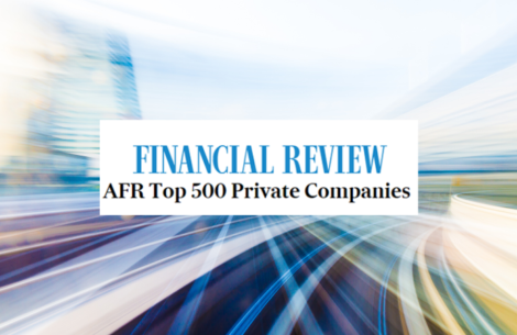 Rowben Consulting's Parent in AFR Top 500 Private Companies List 2020